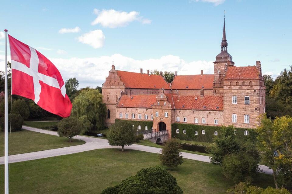 Prinsesse bryllup – Holckenhavn slot.